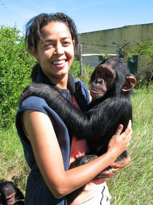 Paula Kahumbu,  directora ejecutiva de la fundación Wildlife Direct en Camerún.- El Muni.
