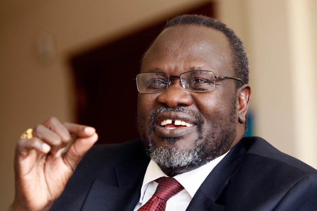Riek Machar, opositor y primer vicepresidente del gobierno de concentración nacional de Sudan del Sur.- El Muni.