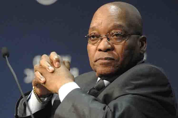 Piden la renuncia del presidente Jacob Zuma en Sudáfrica por corrupción.