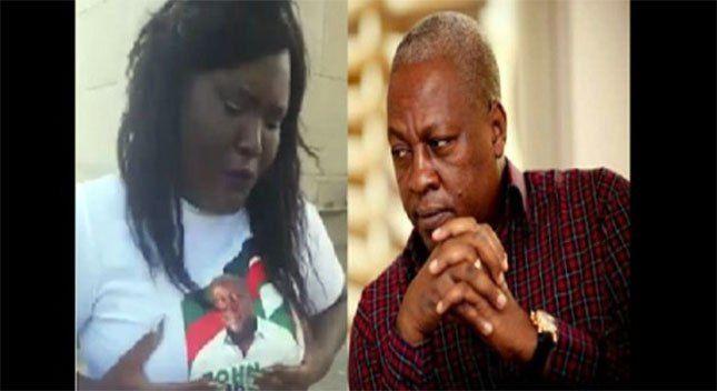 Ghana: Una mujer pide al presidente John Mahama acostarse con ella sin compromiso (audio del vídeo traducido).