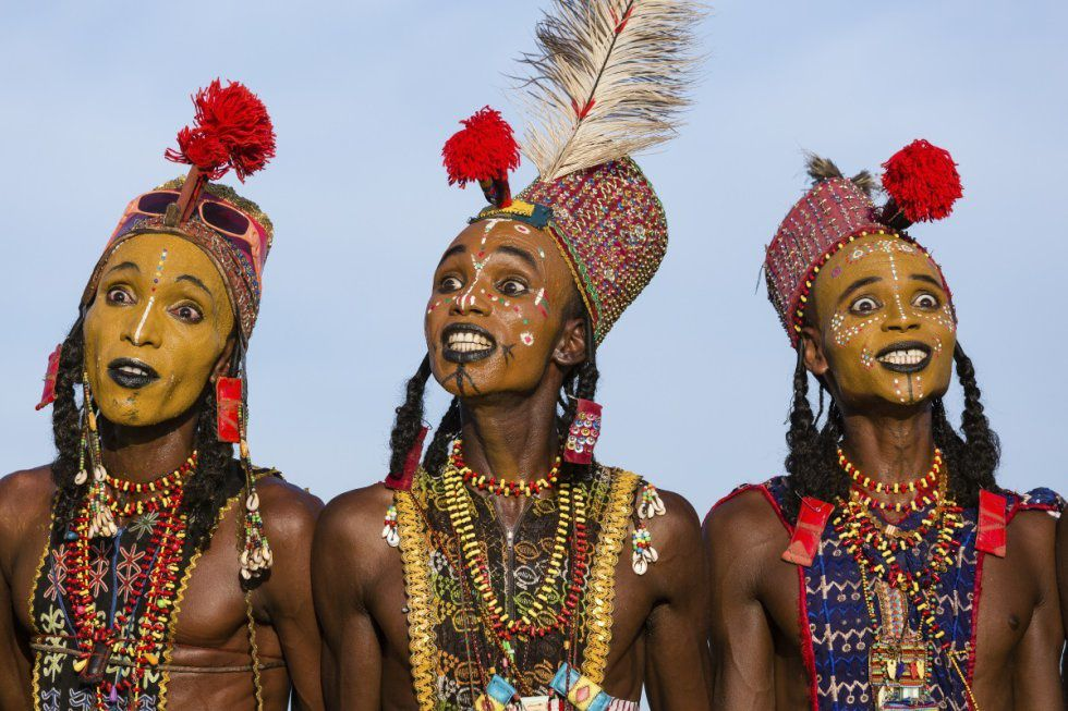 Así eligen marido las mujeres nómadas del Tchad.
