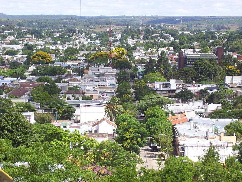 Panorámica de la ciudad de Rivera desde el Cerro Marconi.- El Muni.