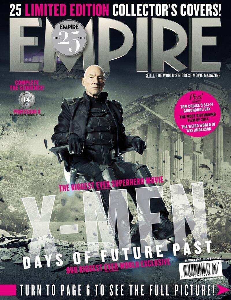 X-Men Days of Future Past : 25 personnages en couverture d'Empire