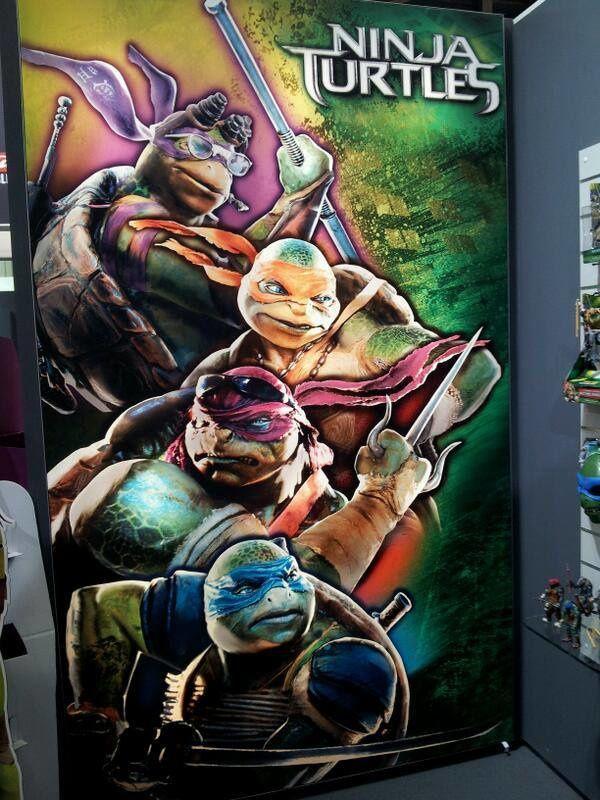 Les Tortues Ninja : nouvelle image promo