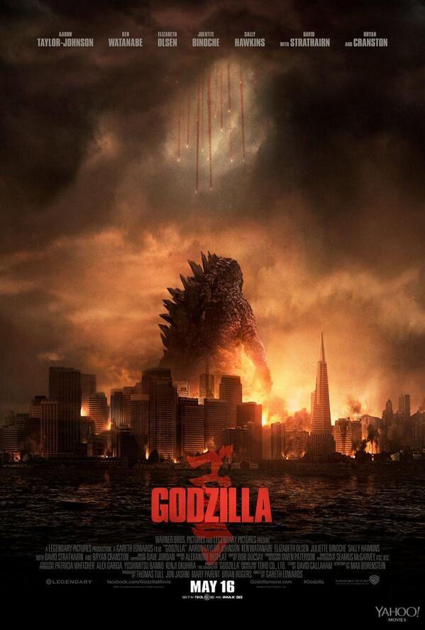 Godzilla : Une nouvelle affiche destructrice