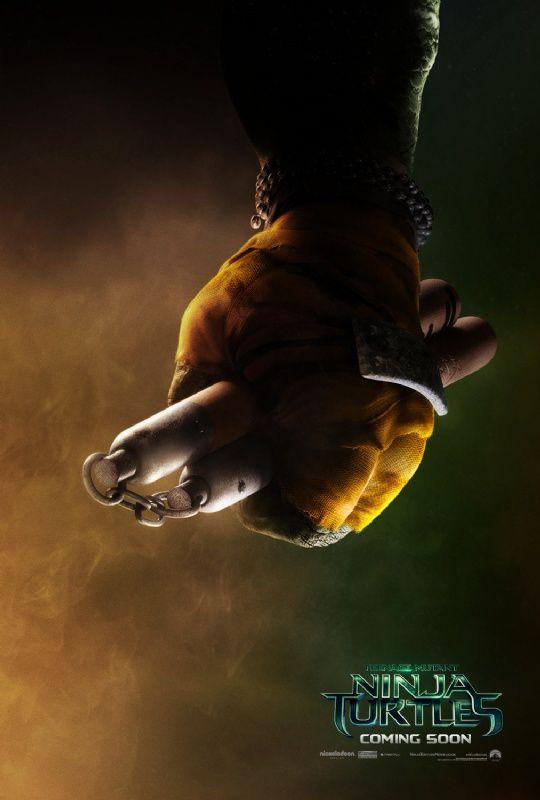 Ninja Turtles : les 4 premières affiches