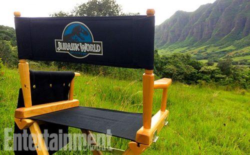 Jurassic World dévoile ses premières photos de tournage
