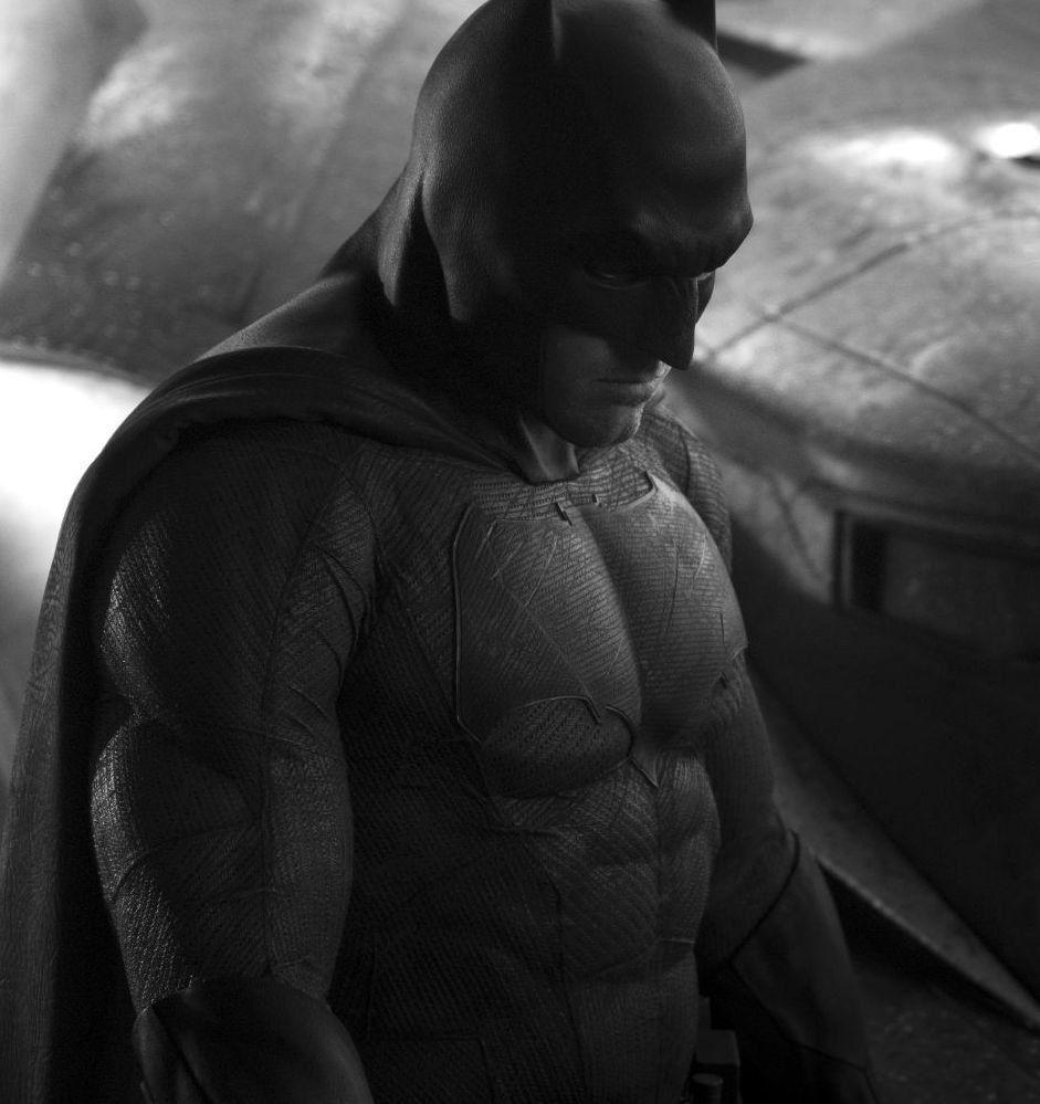 Batman vs Superman – Batman et la Batmobile se dévoilent