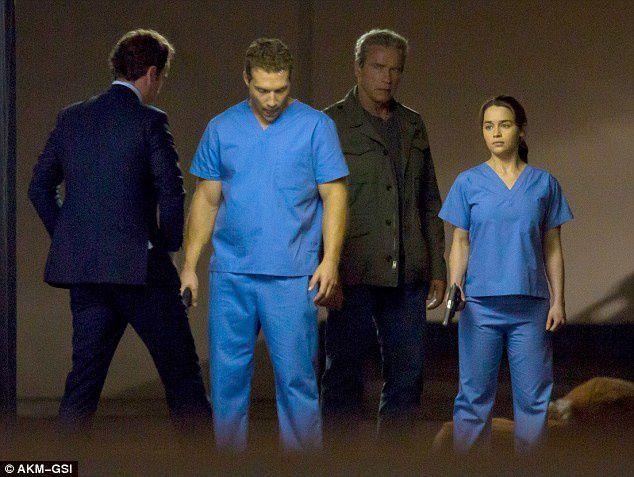 TERMINATOR GENESIS: premières images de tournage du nouveau Schwarzenegger