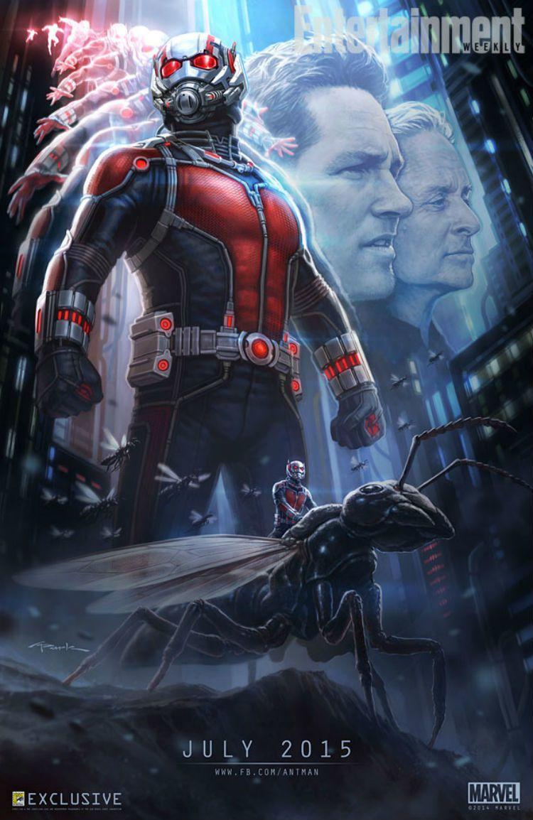Première photo officielle (et surprenante) de Paul Rudd en Ant-Man