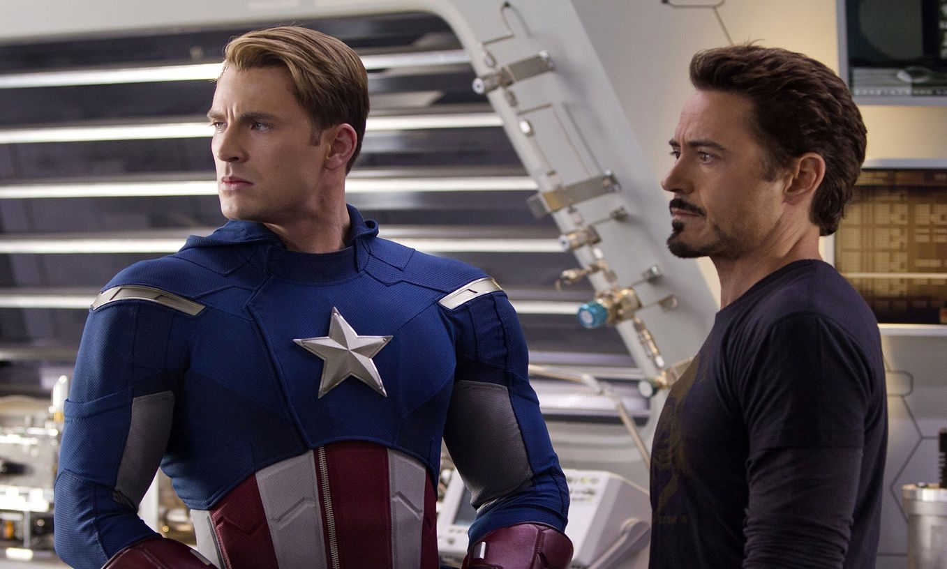 Robert Downey Jr vs. Chris Evans dans Captain America 3