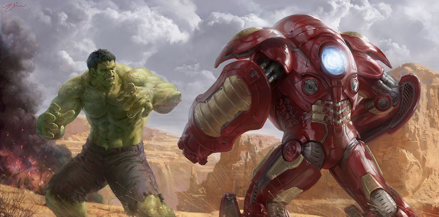 Avengers 2 : aperçu de l'envergure du Hulkbuster d'Iron Man