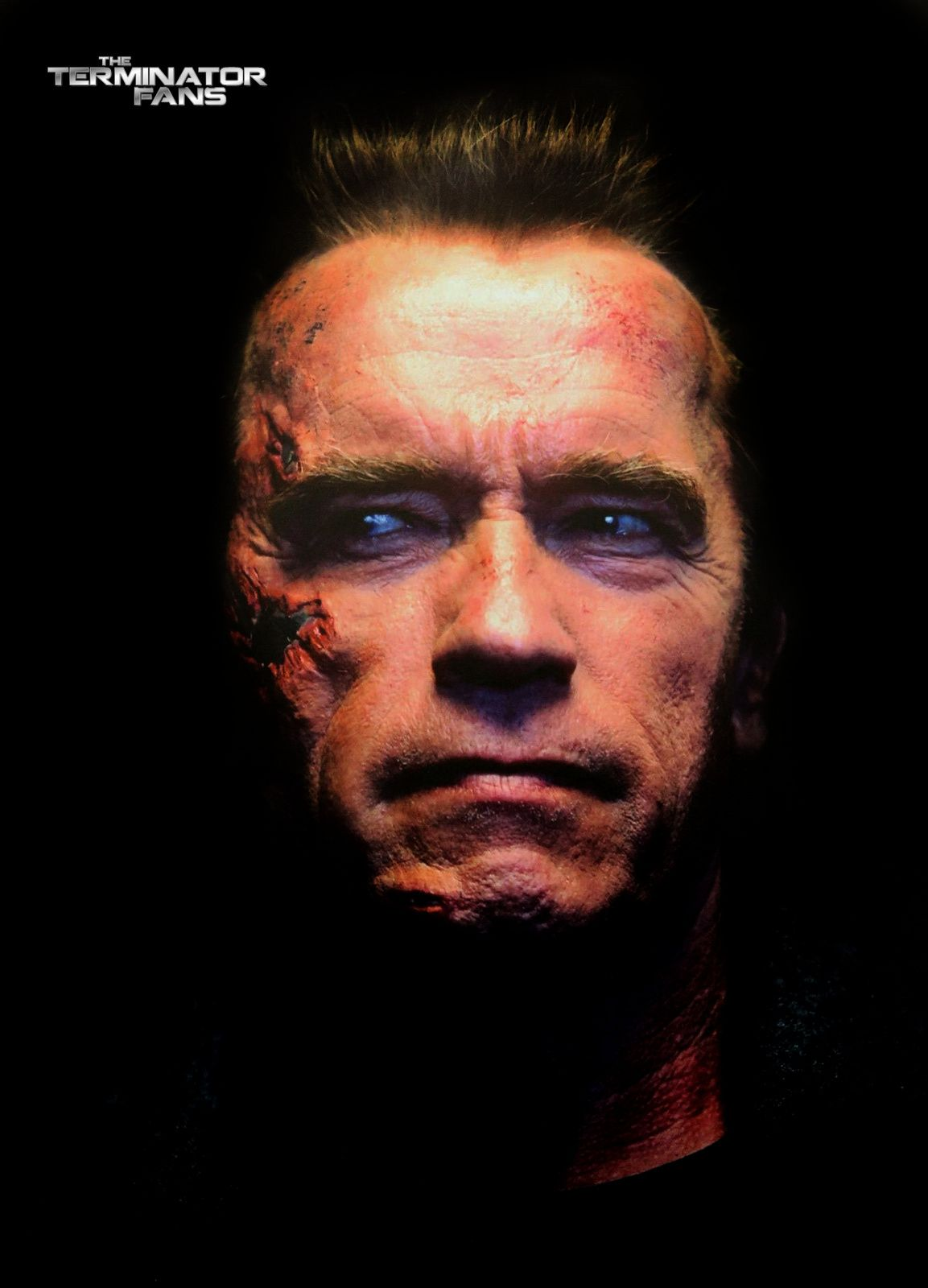 Terminator Genisys : photo du T-800 endomagé