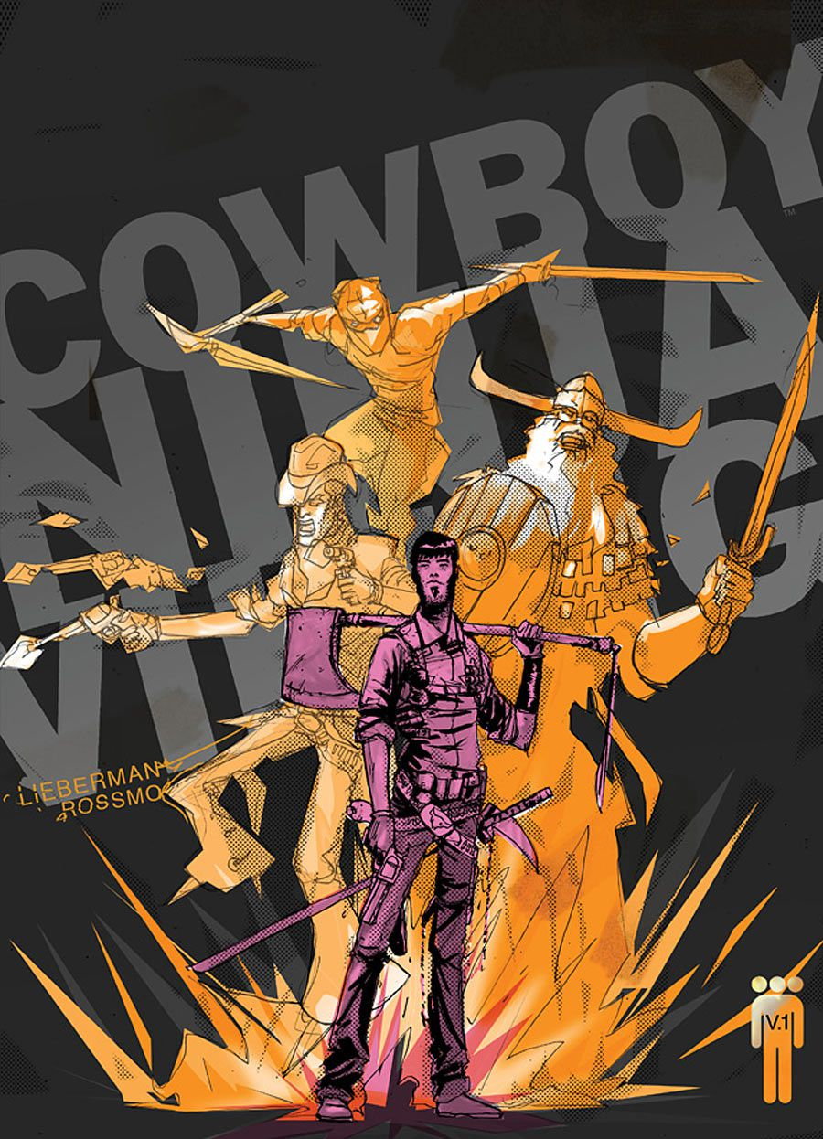 Chris Pratt en Cowboy Ninja Viking