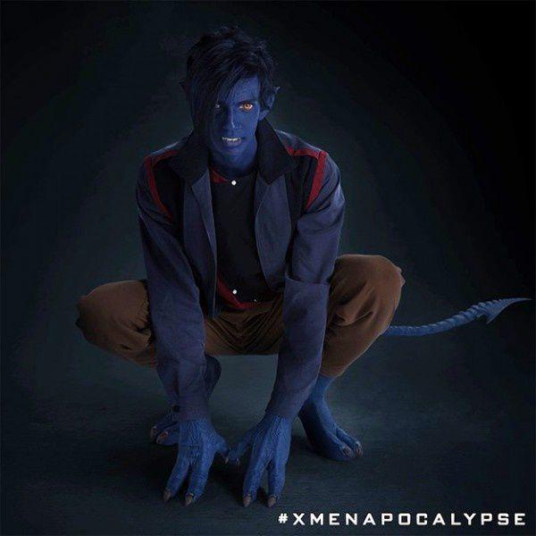 X-Men Apocalypse : photos de Kodi Smit-McPhee en Diablo !