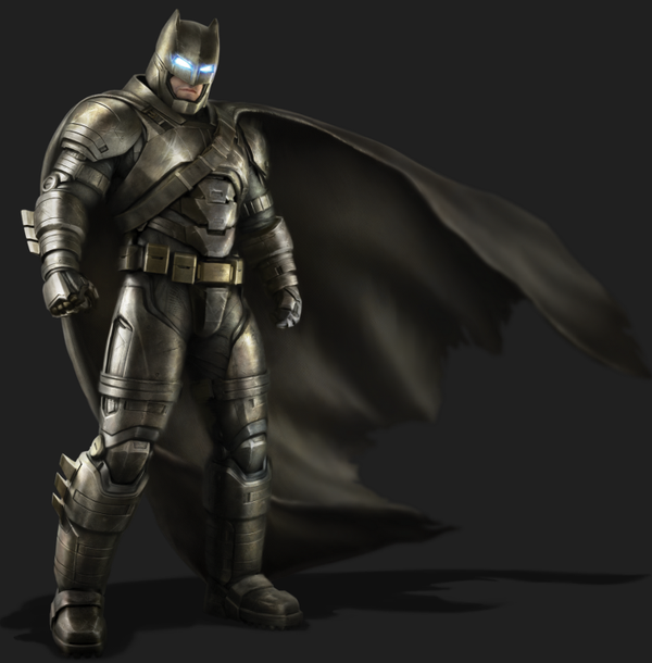 Batman v Superman : artworks des costumes et du Batwing