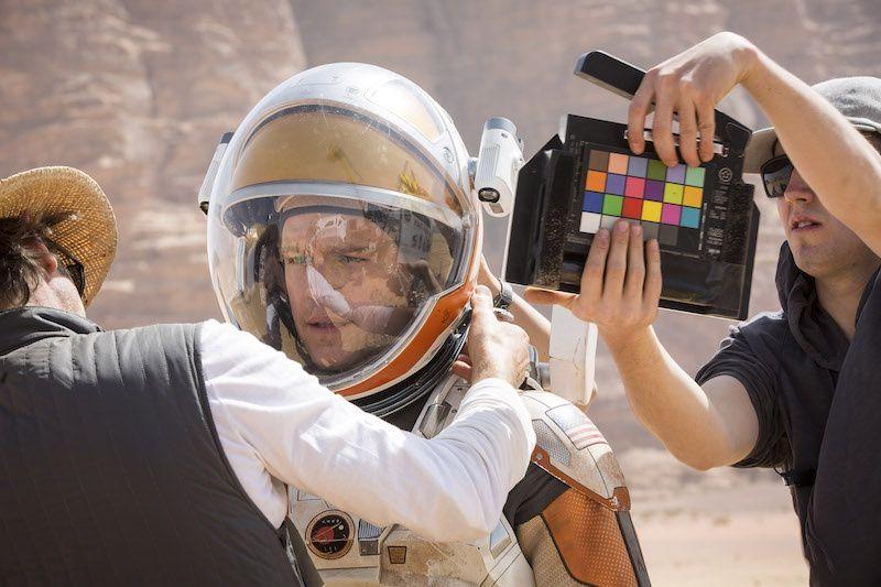 Les premières images du film The Martian de Ridley Scott