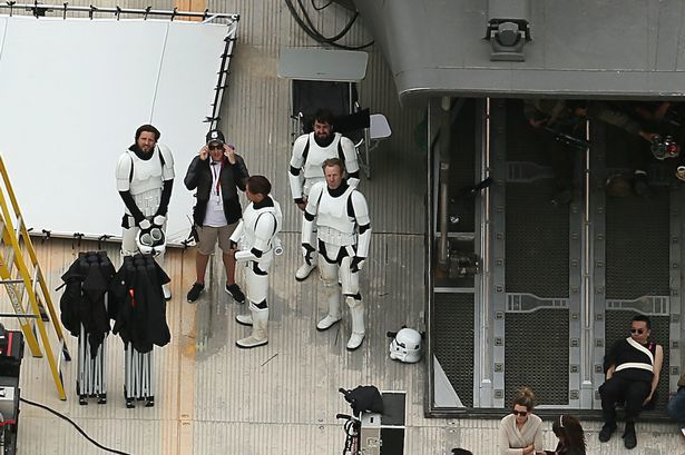 Star Wars Rogue One : premières photos du tournage