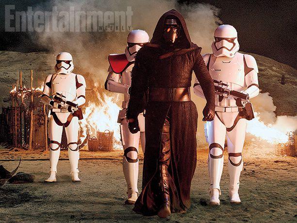 Star Wars : J.J. Abrams dévoile une tonne de nouvelles images et d'infos sur le méchant