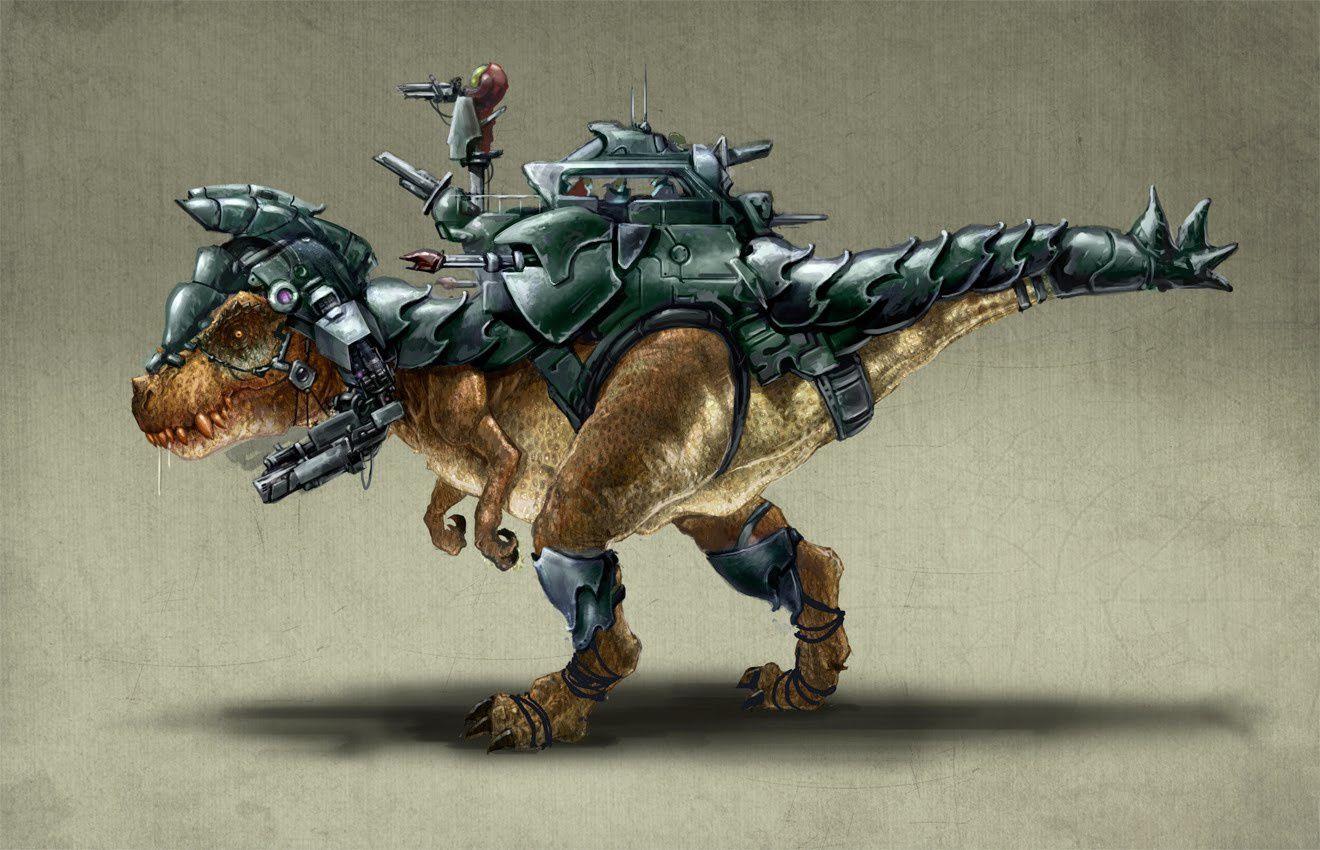 Après les Transformers, les Dino-Riders arrivent au cinéma !