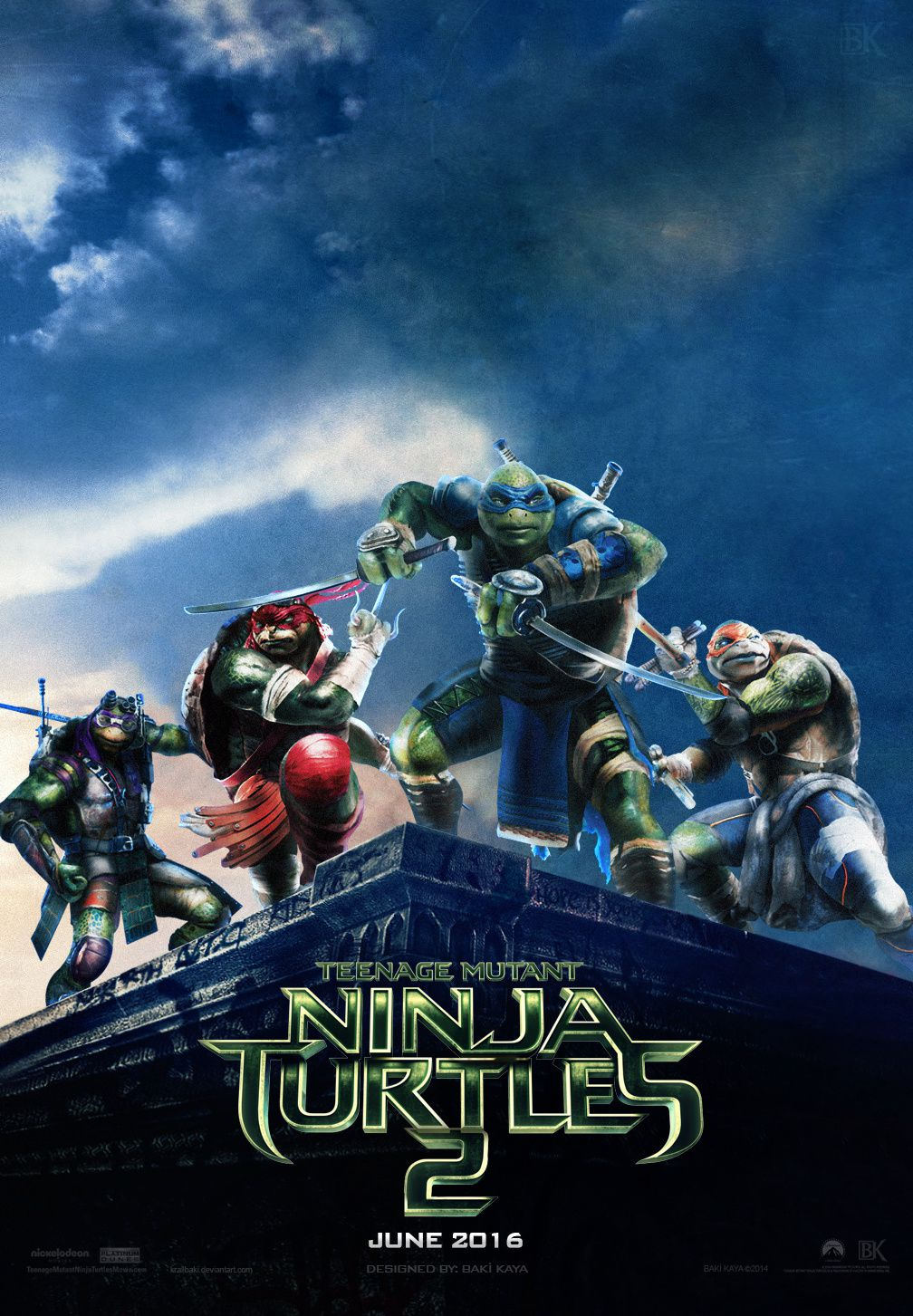 Ninja Turtles 2 - Spot Super Bowl VF
