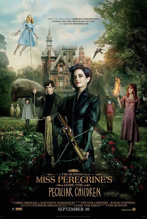 Miss Peregrine et les Enfants particuliers - Bande Annonce VO