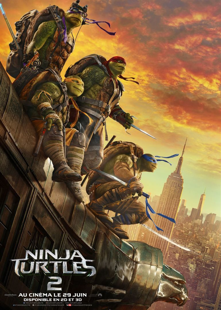 Les Tortues Ninja 2 - Bande Annonce 3 VO