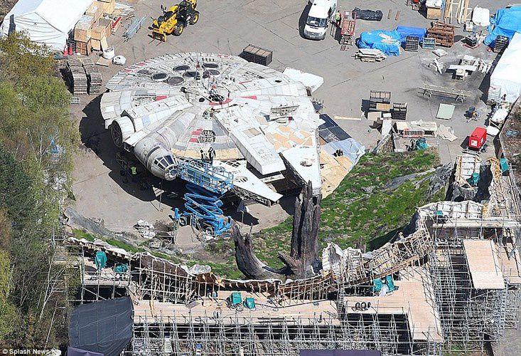 Star Wars Episode VIII : Fuite de nouvelles photos du tournage à Pinewood