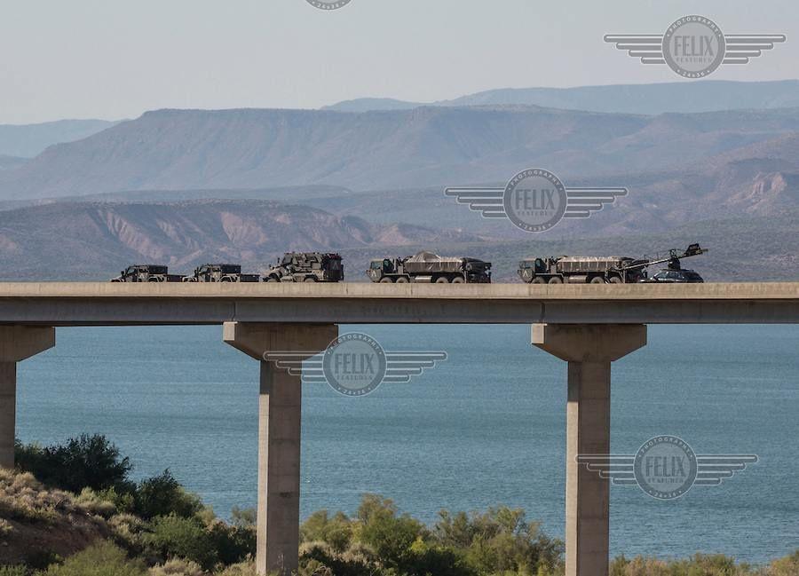 Transformers : The Last Knight – Photos des véhicules en tournage dans l'Arizona