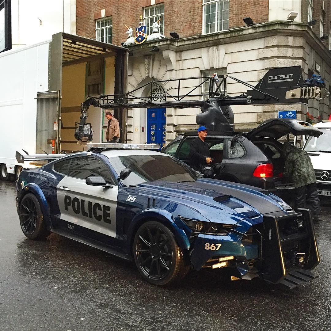 Transformers : The Last Knight – Photos des véhicules à Londres (Bumblebee, Barricade, Hot Rod et plus)