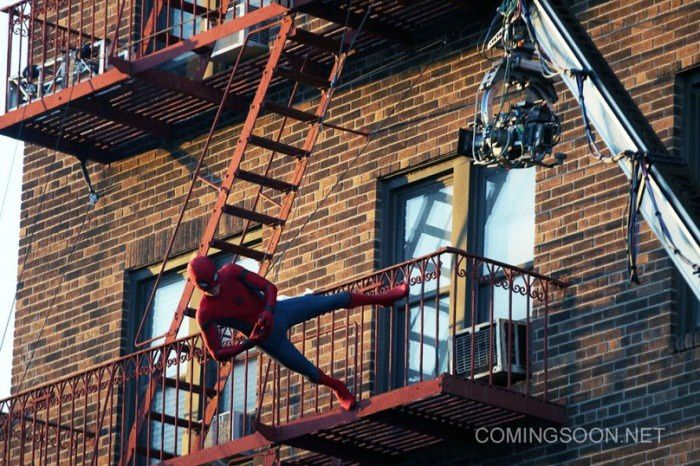 Spider-Man Homecoming : des photos de tournage à New York