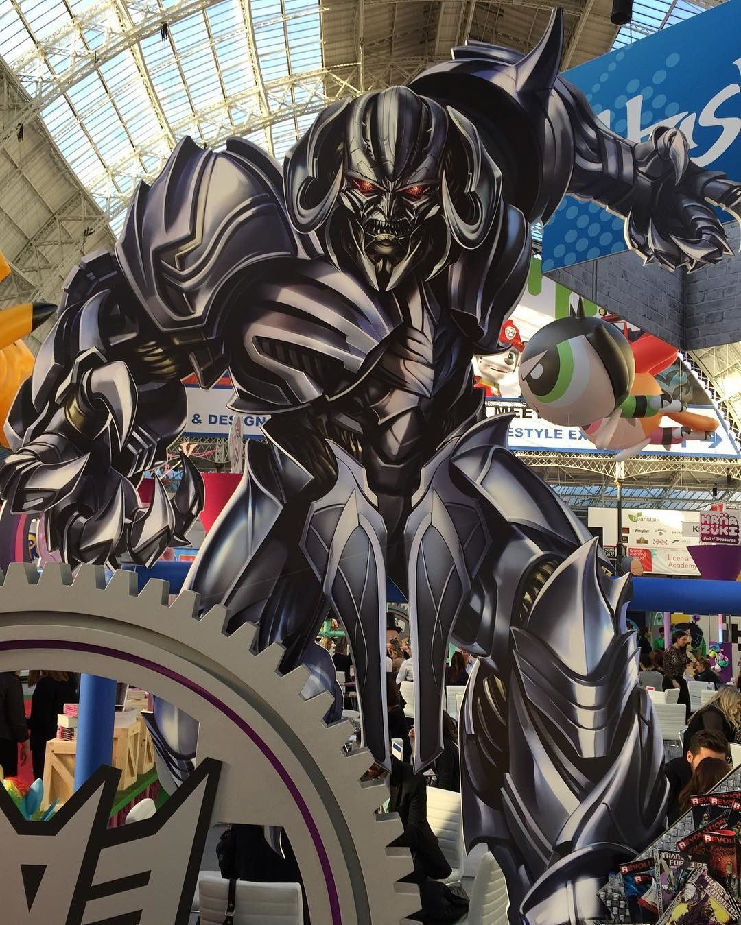 Transformers The Last Knight – Images promotionnelles du Brand Licensing Europe 2016 Expo