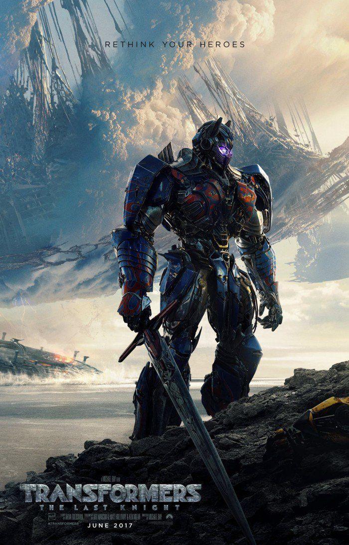 Transformers The Last Knight : Le premier poster du film !