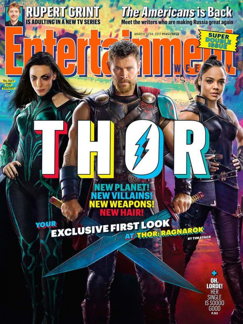 Thor : Ragnarok : première photo surprise de Thor, Hela et Valkyrie