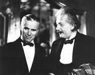 CHARLES CHAPLIN & ALBERT EINSTEIN
