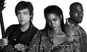 Rihanna, Paul McCartney and Kanye West release new song Four Five Seconds