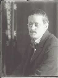 James Joyce à Paris par Man Ray en 1922