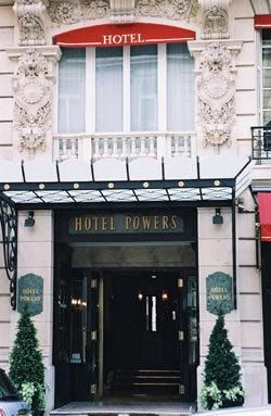 Hotel Powers 52 rue Francois 1er 75008 Paris mai 1931