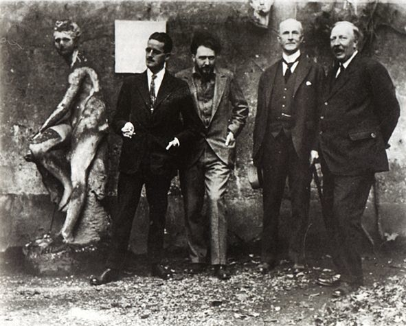 James Joyce à Paris en  1923