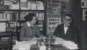 James Joyce & Sylvia Beach en 1920