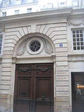APPARTEMENT D'EZRA POUND 3 RUE DE BEAUNE 75007 PARIS JUILLET 1920