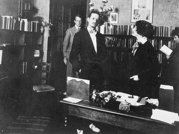 James Joyce & Sylvia Beach en 1921