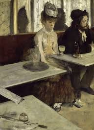 EDGARD DEGAS &quot&#x3B;L'ABSINTHE&quot&#x3B; ( IN A CAFE )