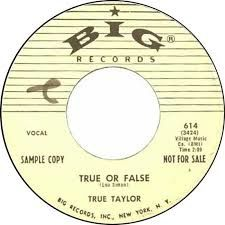 TRUE TAYLOR ( PAUL SIMON )