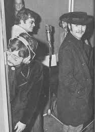 DAVID CROSBY HANGING OUT WITH THE BEATLES
