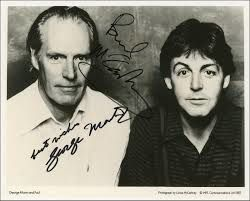 PAUL MCCARTNEY'S HOMMAGE TO GEORGE MARTIN