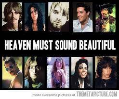 THE BEST ROCK BAND IS IN HEAVEN