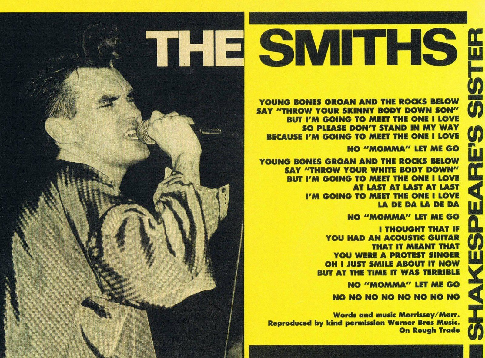 The Smiths &quot&#x3B;Shakespeare's Sister&quot&#x3B;