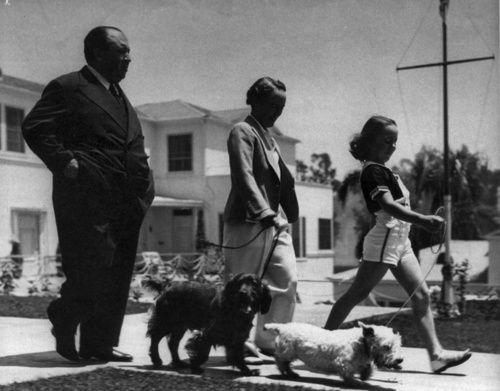 &quot&#x3B;I LOVE MY DOG&quot&#x3B; ALFRED HITCHCOCK &amp&#x3B; MR JENKINS