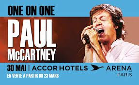 PAUL MCCARTNEY EN CONCERT A PARIS LE 30 MAI 2016